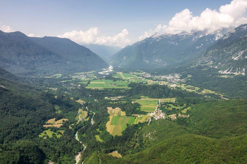 Bovec paragliding