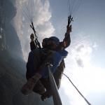 Paragliding adrenalin tandem