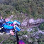 Paragliding Fratarca, Parabola waterfall