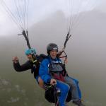 Paragliding Mangart Cloud