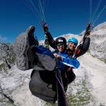 Paragliding Kanin smiling