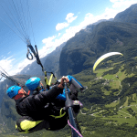 Paragliding Bovec panorama