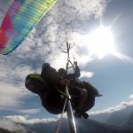 Paragliding Kanin sun