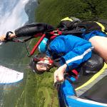 Paragliding adrenaline