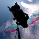 Paragliding Kanin sky clouds