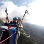 Paragliding Kanin smile