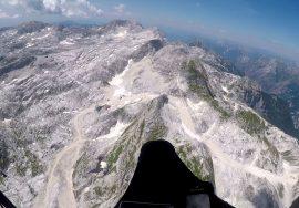 Paragliding High Kanin